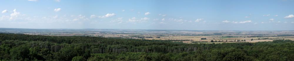 Panorama Thüringer Becken