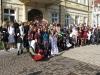 Gruppenfoto vor dem Demminer Rathaus