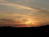 Sonnenuntergang über Trittelwitz