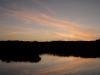 Sonnennuntergang über der Peene