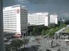 Aussicht aus unserem Hotelzimmer im Pullman Dresden Newa in der Prager Straße
