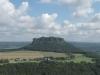 Blick auf die Sächsische Schweiz von der Festung Königsstein
