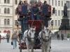 historische Pferdekutsche in Dresden