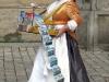 das Schokoladenmädchen an der Frauenkirche in Dresden