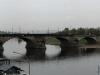 Panorama von der Augustusbrücke in Dresden