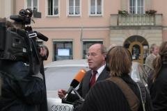 Gregor Gysi in Neubrandenburg 12.09.2009