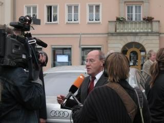 Gregor Gysi in Neubrandenburg