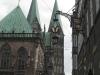 Blick auf Rathaus und Dom von Bremen