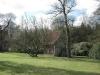 Garten auf dem Volmer's Hof mit Ferienhaus im Heuschober