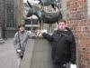 Henning und ich bei den Bremer Stadtmusikanten