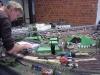Bau an der Eisenbahnstrecke