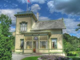 Troldhaugen - Edvard Grieg Museum in Bergen - Villa von E. Grieg und seiner Frau
