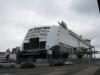 Autofähre Color Fantasy im Hafen von Kiel