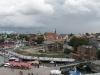 Blick über den Altstadthafen vom Ozeaneum
