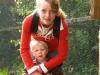Christine mit ihrem Sohn Denny
