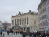 Blick auf das Verkehrsmuseum Dresden