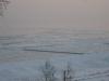 Sonnenuntergang mit Blick auf die vereiste Ostsee