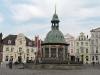 Wasserkunst auf dem Marktplatz in Wismar