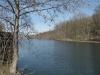 unser Ferienhaus in Woltersdorf - Blick auf den Kalksee