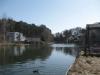 unser Ferienhaus in Woltersdorf - Blick Richtung Schleuse